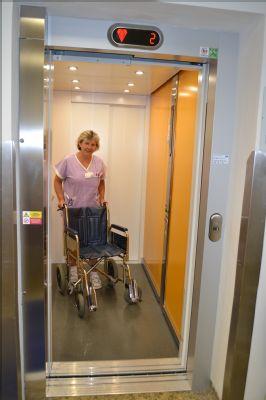 Dialýza Šumperk pořídila nový výtah pro pacienty i zásobování
